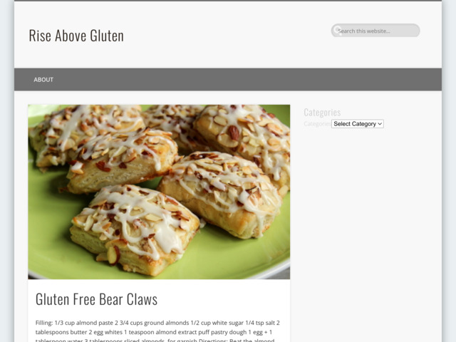 riseabovegluten.com preview image