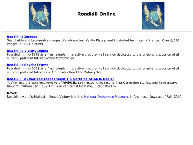 roadkillonline.net preview image