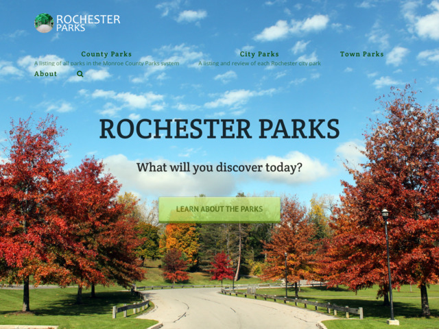 rochesterparks.org preview image