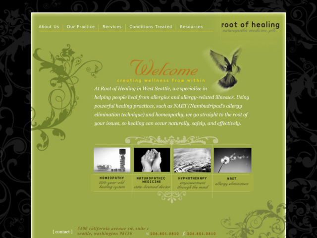 rootofhealing.com preview image