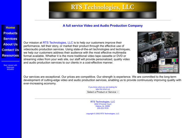 rtstechnologies.com preview image