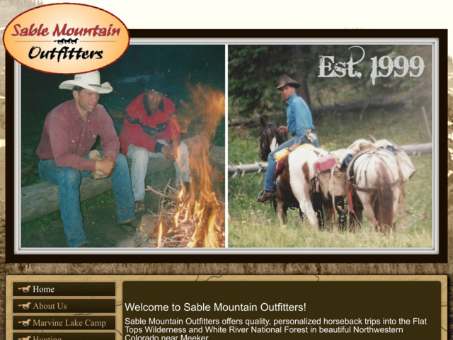 sablemountainoutfitters.com preview image