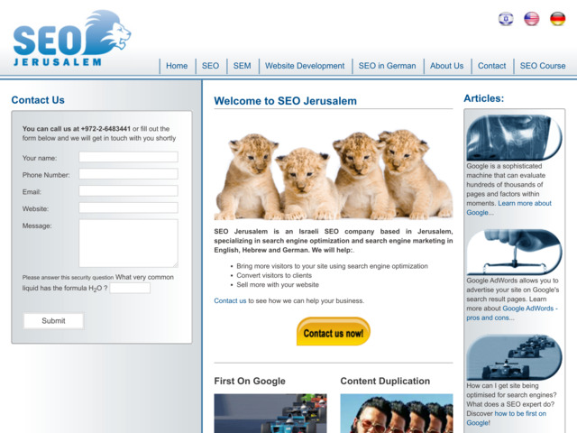 seo-jerusalem.com preview image