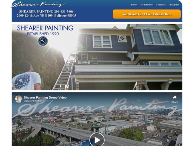 shearerpainting.com preview image