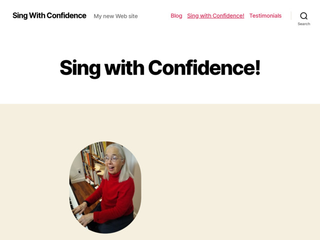 singwithconfidence.com preview image
