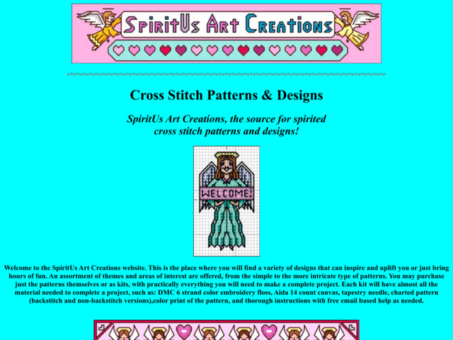 spiritusartcreations.com preview image