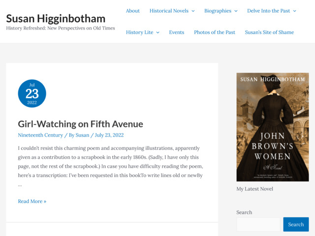 susanhigginbotham.com preview image