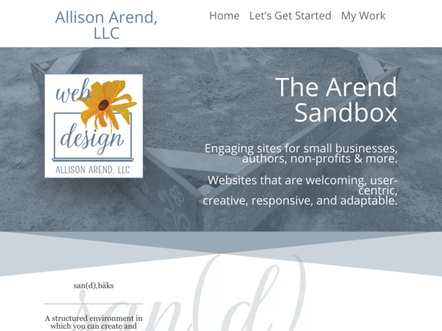 thearendsandbox.com preview image