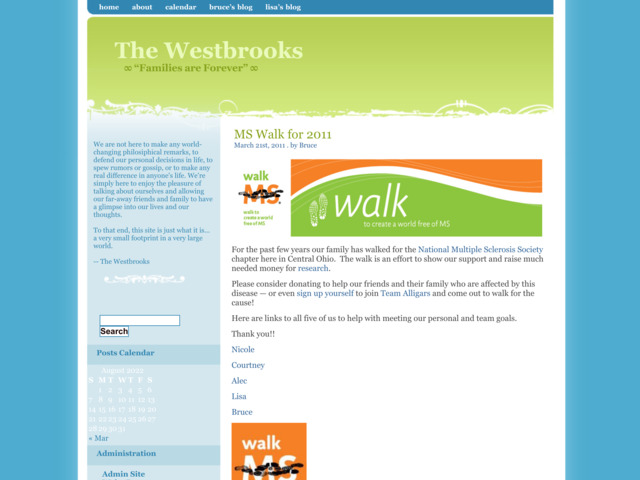 thewestbrooks.com preview image