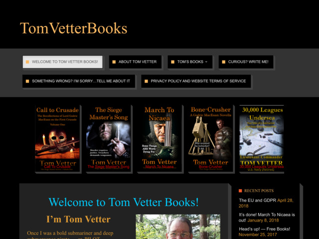 tomvetterbooks.com preview image
