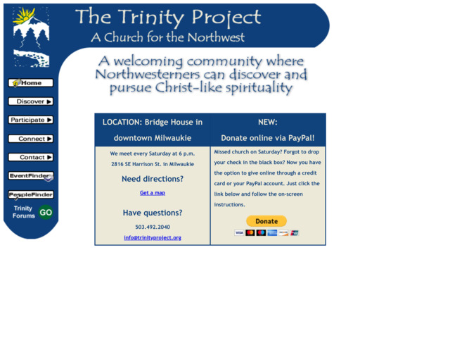 trinityproject.org preview image