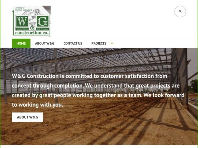 wandgconstruction.com preview image